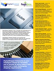 DigitalShipper Enterprise for Made2Manage M2M Brochure