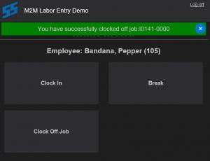 M2M Labor Entry
