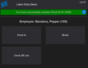 M2M Intuitive ERP Labor Entry