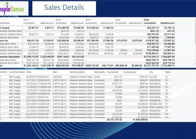 Power BI SalesDetails