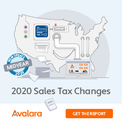 2020 Sales tax changes midyear update