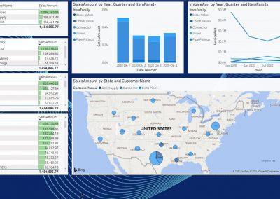 Power BI SalesMap