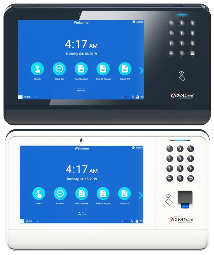 M2M Intuitive Time Attendance Time Clock